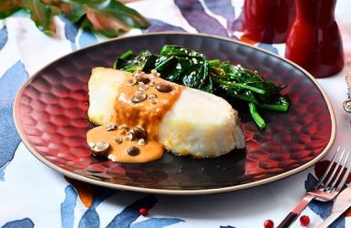 ปลาหิมะซอสมิโซะโคชูจัง
