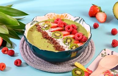 สีเขียวกินแล้วมีประโยชน์กับกรีนสมูทโบลว์