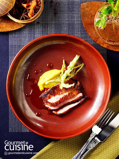 Grilled Trang Pork Neck with Fried Shrimp Paste