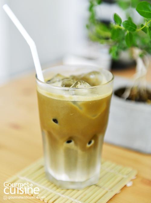 Ice Houjicha Latte