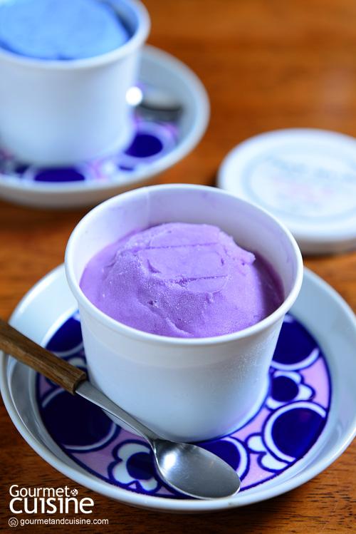 ไอศกรีมลาเวนเดอร์