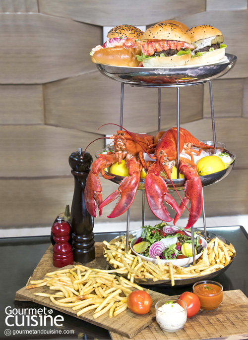 Lobster and Burger Tower