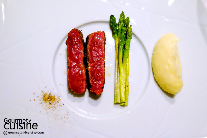 Piedmontese Fassona beef tartare, Burrata from Puglia