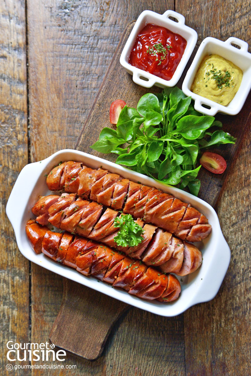 Grilled Mixed Sausage