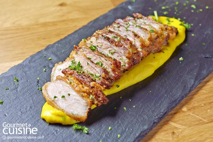 Roasted Iberico Pork & Pumpkin Puree