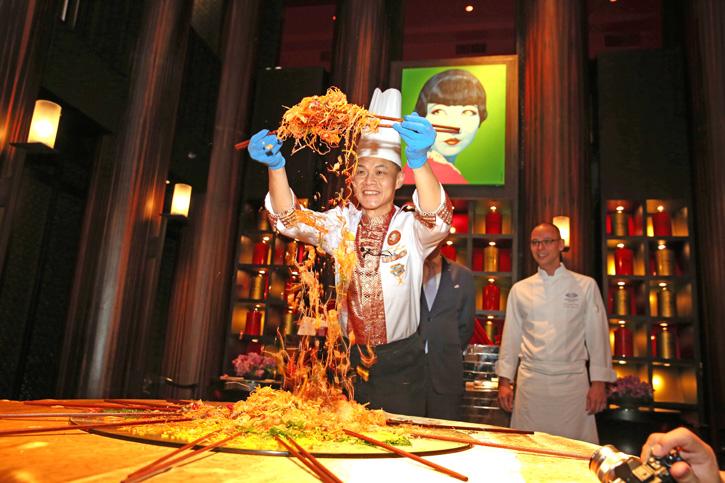 ห้องอาหาร เดอะ ไชน่า เฮ้าส์ โรงแรมแมนดารินโอเรียนเต็ลกรุงเทพฯ