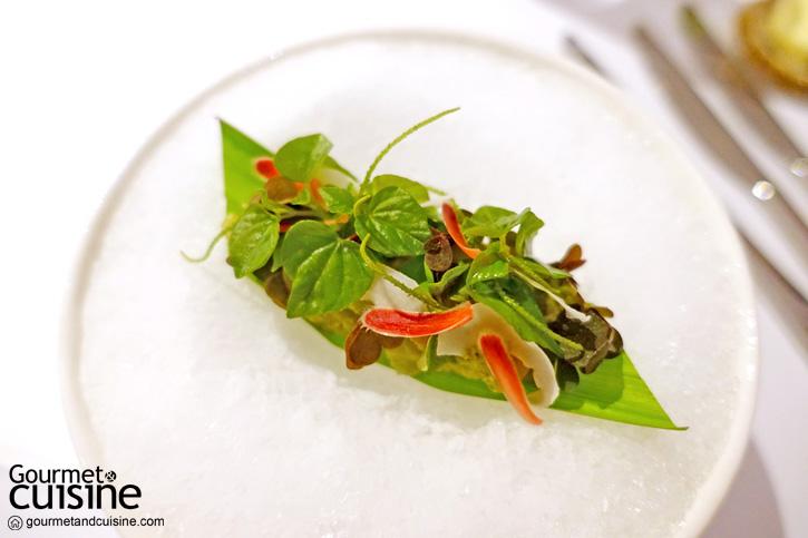 Prawn Umai ,Green Sambal, A Light Salad