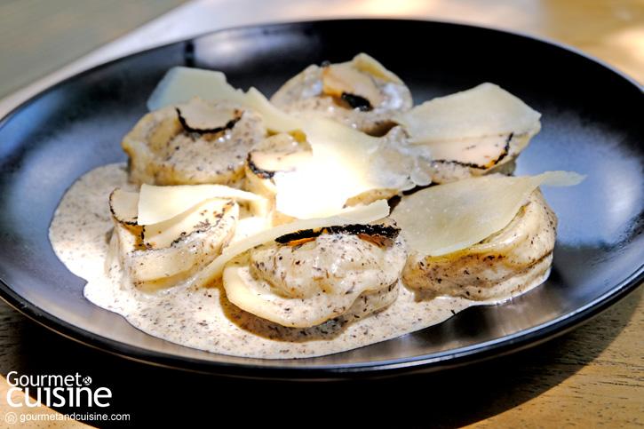 Truffle and Mushrooms Ravioli