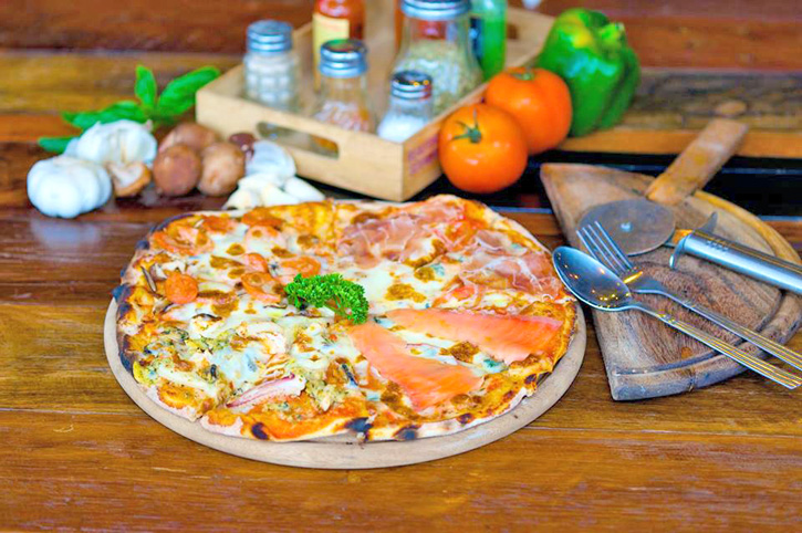 Thin Thin Pizza