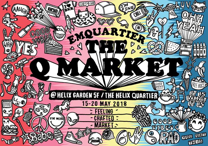 EmQuartier Q Market @ Helix Garden