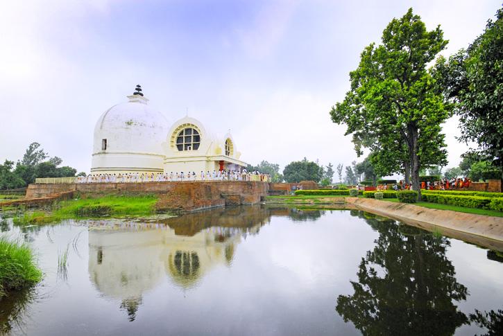 ตามรอยพระพุทธเจ้าจาก India ถึง Nepal สังเวชนียสถาน 4 ตำบล