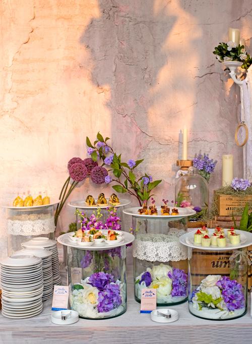 ธีมงานปาร์ตี้สีม่วงไวโอเลต คลาสสิกได้ สวยด้วย