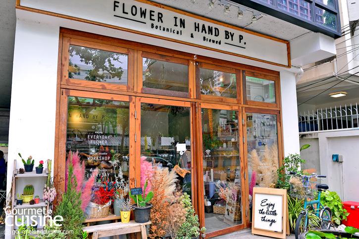 5 ร้านคาเฟ่ดอกไม้