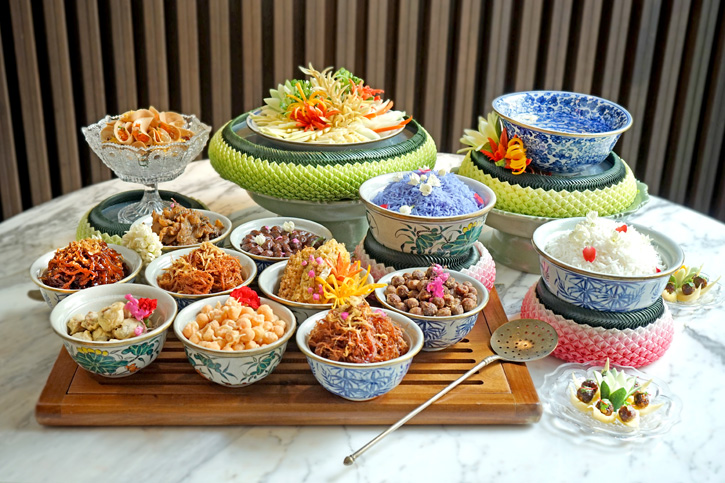 รับฤดูร้อนไทยกับข้าวแช่ตำรับห้องเครื่องแบบชาววัง ณ โรงแรมเจดับบลิว แมริออท กรุงเทพฯ