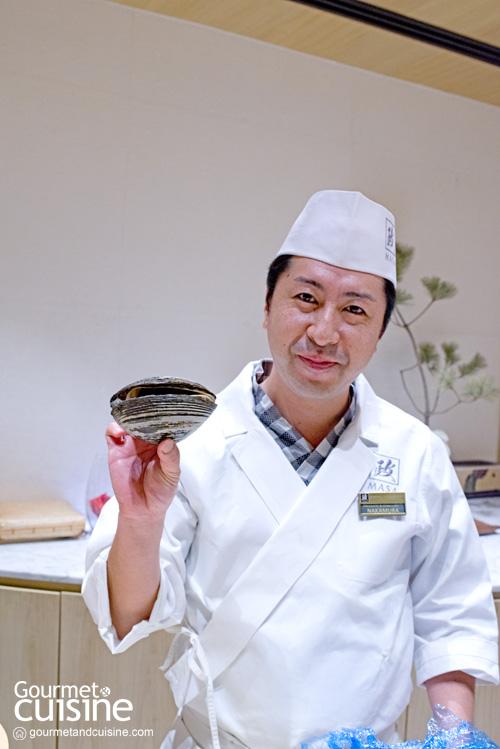 Masa – Otaru Masazushi เต็มคำกับซูชิในตำนานจากฮอกไกโดที่ไอคอนสยาม