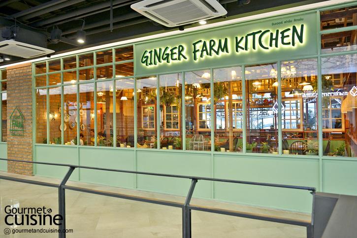 Ginger Farm Kitchen ส่งต่อความเฮลท์ตี้จากฟาร์มเชียงใหม่สู่กรุงเทพ