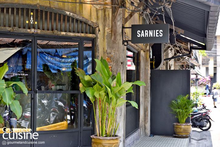 Sarnies คาเฟ่สุดฮิปจากสิงคโปร์ในตึกโบราณกลางเจริญกรุง 44