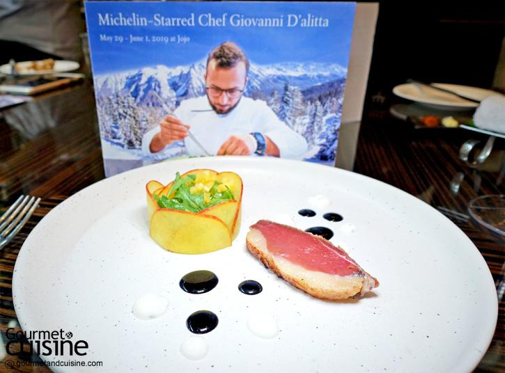 Giovanni D' alitta มิชลินสตาร์เชฟกับอาหารจากเทือกเขาสูง