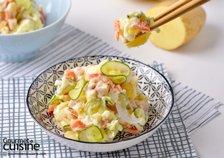 สลัดมันฝรั่งแบบญี่ปุ่น (Japanese Potato Salad)