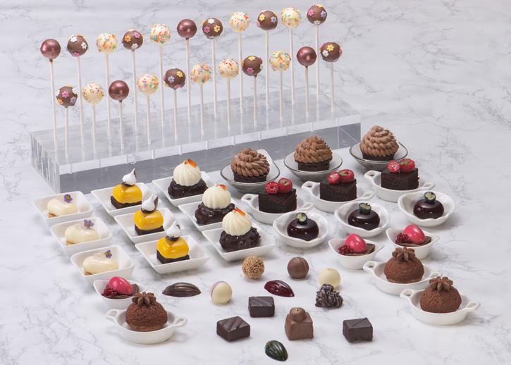 ห้องอาหารอัพ แอนด์ อะบัฟ และ บาร์ร่วมฉลองวันช็อกโกแลตโลกด้วยบุฟเฟ่ต์ช็อกโกแลต