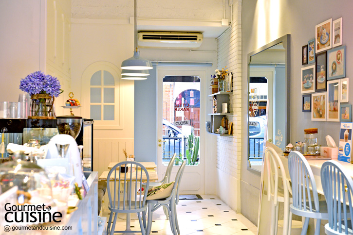 Little Baker Café and Studio โลกแสนหวานของคนรักขนมอบ
