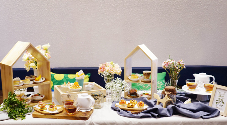 Afternoon Tea Party - จิบชายามบ่าย เติมเต็มความสุขสไตล์ On the Table, Tokyo Café