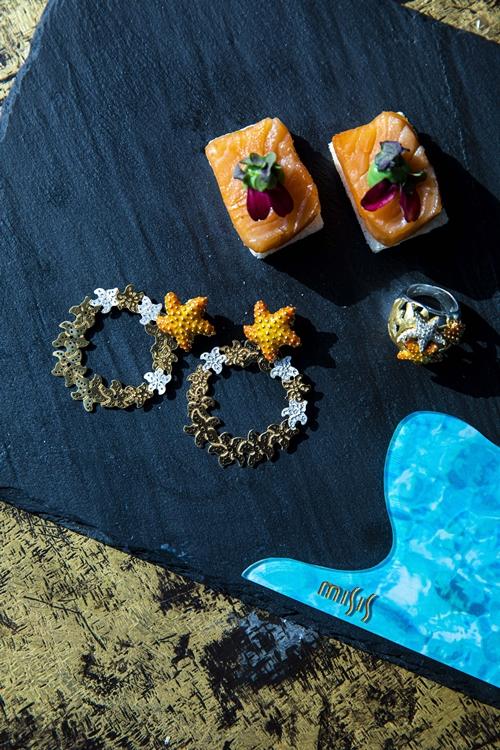 """""""Gems of the Sea Afternoon Tea"""" ชุดน้ำชายามบ่ายจากจิวเวลรีดีไซน์เก๋ """"มิสซิส"""" ที่ เดอะ เซนส์ รีจิส กรุงเทพฯ"""