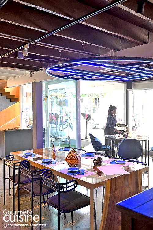 Dai Lou ชวนชิมอาหารจีนสไตล์ทาปาสในบ้านสีน้ำเงิน
