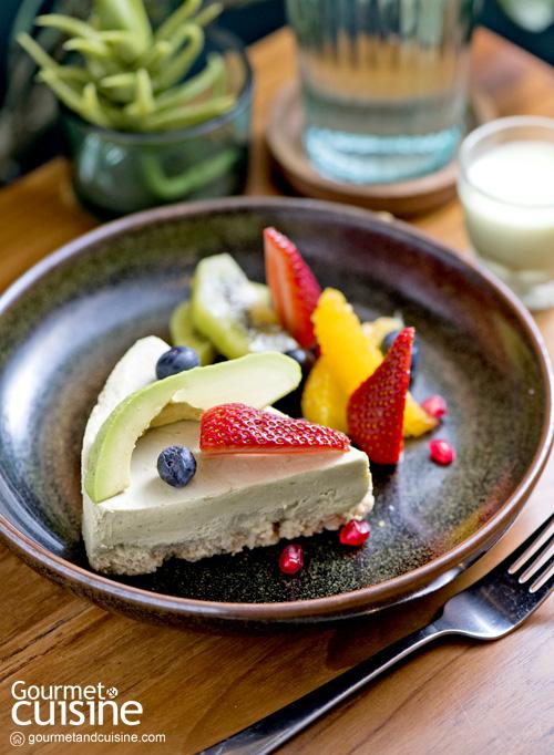 Avocado Cheesecake : The Hass Bistro