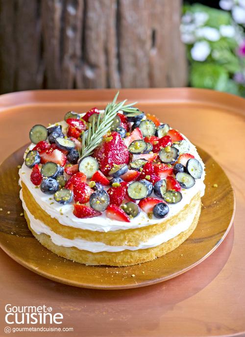 The Forest Wanderer Cake : Forest Bake