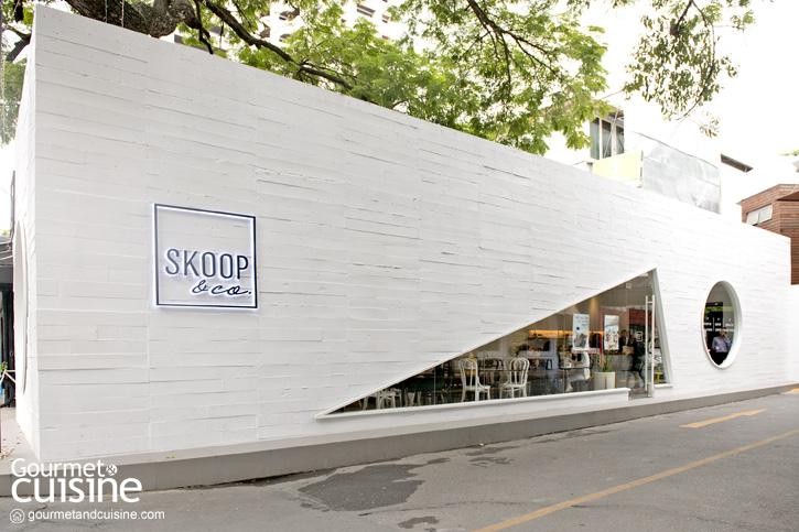 Skoop & Co. คาเฟ่ขวัญใจสายฮิปแห่งใหม่ใจกลางทองหล่อ