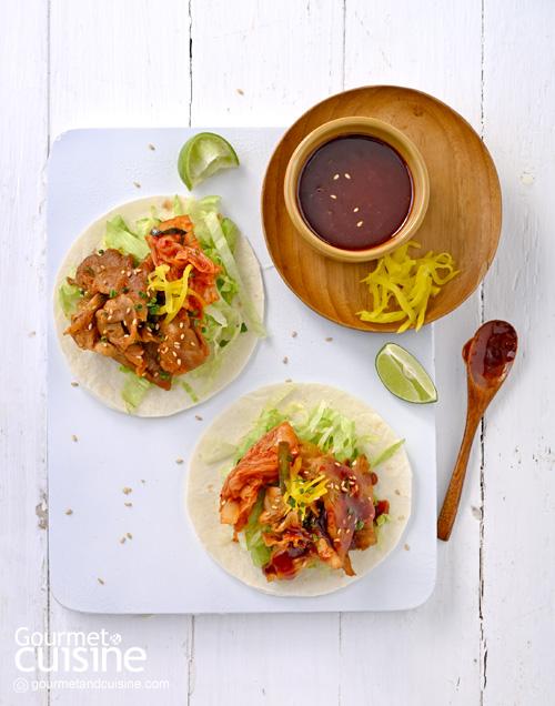 ทาโก้กิมจิ (Kimchi Taco)