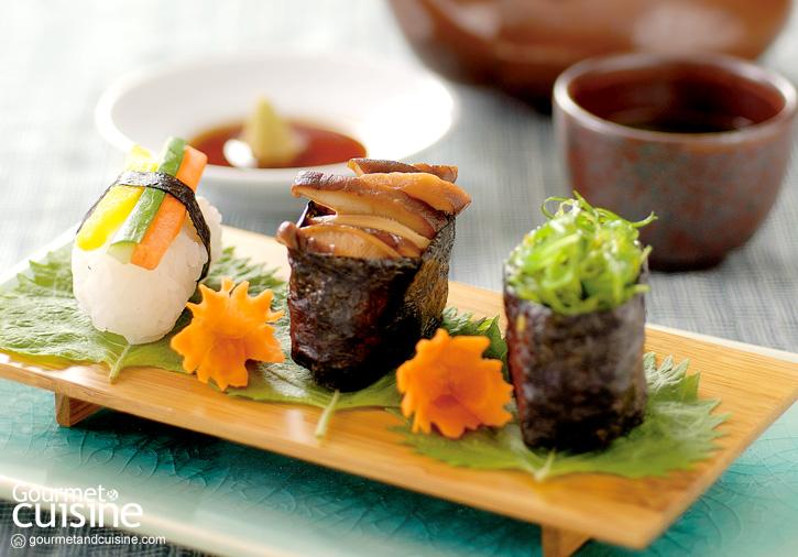 ซูชิหน้าผัก