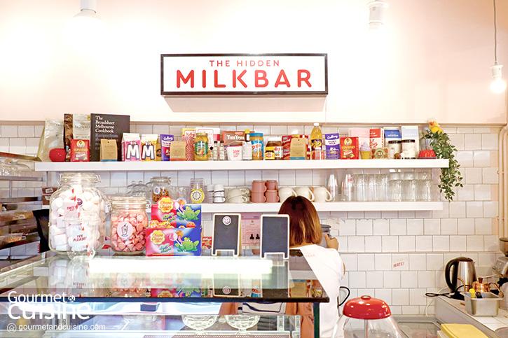 The Hidden Milk Bar