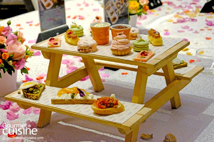 'Garden Blossom High Tea' ชวนไปจิบชายามบ่ายกับธีมดอกไม้แสนหวานที่เซสท์ บาร์ แอนด์ เทอเรส