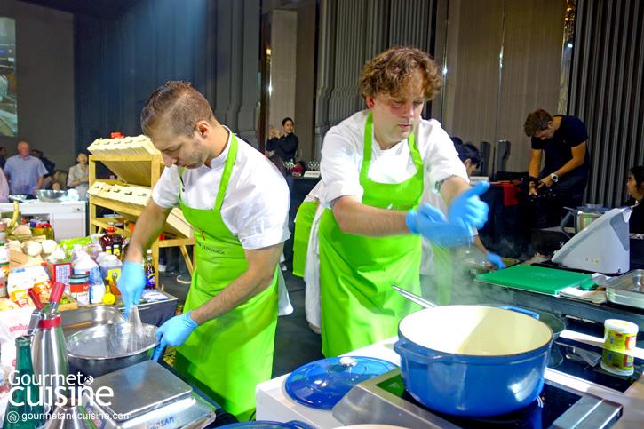 เชฟมิชลินสตาร์แข่งทำอาหารในงาน So Amazing Chef 2019