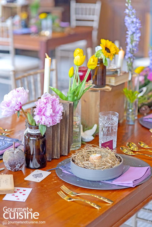 Chef's Table in Wonderland เสิร์ฟจานพิเศษให้ทุกคนได้เซอร์ไพรส์และอิ่มอร่อย