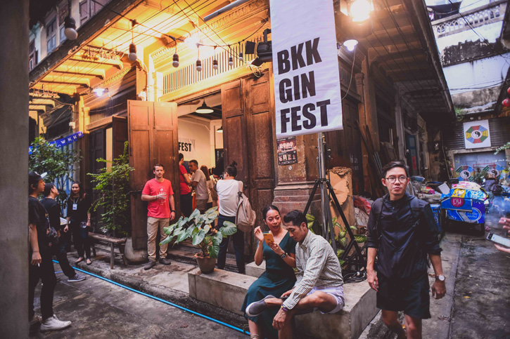 บาร์เทนเดอร์รับเชิญสุดพิเศษสำหรับ Bangkok Gin Festival ในคืนวันที่ 9 พฤศจิกายน 2019 ณ ซอยนานา
