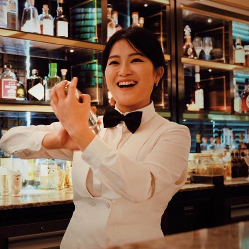 June Baek presented by Caorunn Gin @ Tep Bar