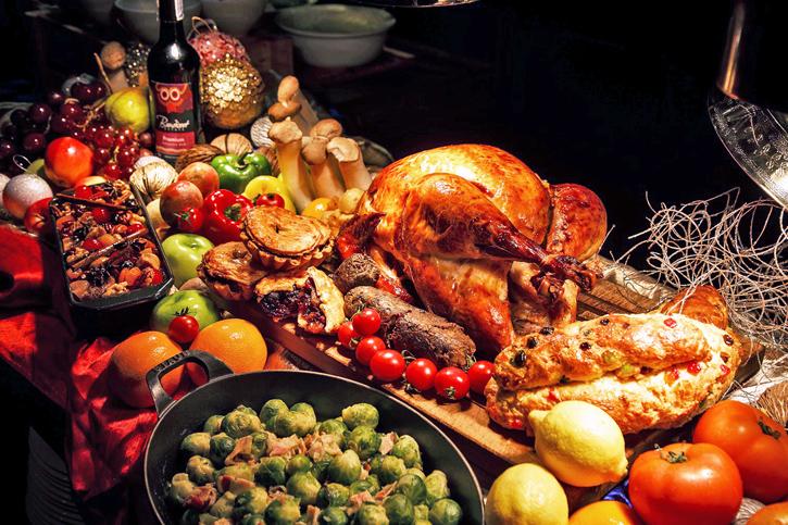 ร่วมเฉลิมฉลองวันขอบคุณพระเจ้ากับครอบครัวด้วยบุฟเฟ่ต์อาหารนานาชาติมื้อค่ำที่ห้องอาหารทเวนตี้ เซเว่น ไบทส์ บราสเซอรี่