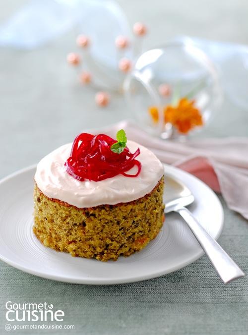 เค้กบีตรูต (Beetroot Cake)