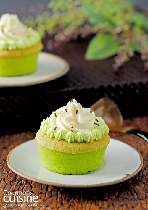 เค้กกำมะหยี่เขียว (Green Velvet Cake)