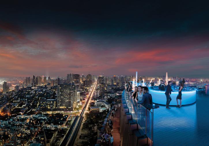 Octave Rooftop Lounge & Bar - Bangkok Marriott Hotel Sukhumvit