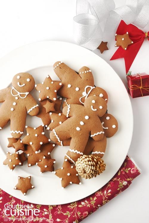 คุกกี้ขนมปังขิง (Gingerbread Cookies)