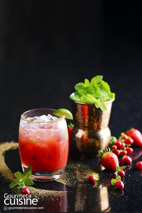 Wild Strawberry Caipiroska