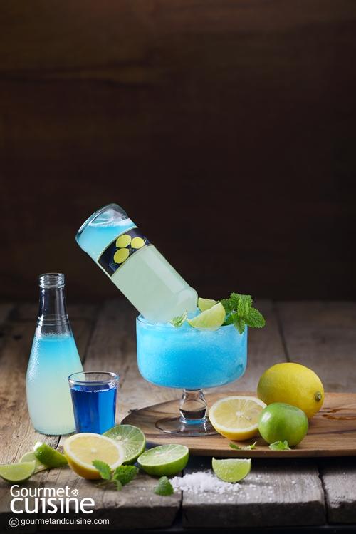 Upside Down Blue Lemonade
