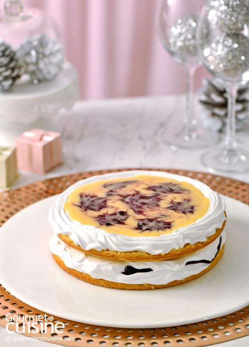 เค้กเลมอนบลูเบอร์รี (Lemon & Blueberry Cake)