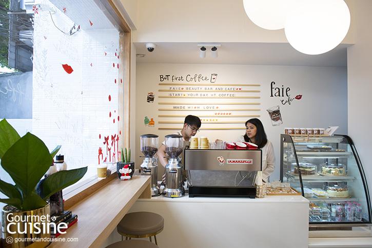 """อร่อยแบบมีสไตล์แบบ """"คุณโสภิต"""" ที่ """"Faie Beauty Bar & Café"""""""