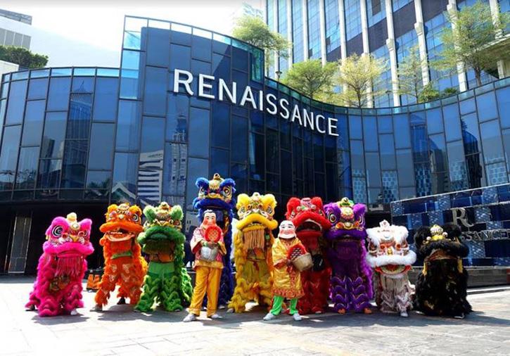 ฉลองเทศกาลตรุษจีนมหามงคลหลากหลายเมนูเลิศรส ณ โรงแรมเรเนซองส์ กรุงเทพฯ ราชประสงค์