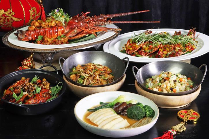 อิ่มอร่อยรับปีใหม่กับเมนูอาหารจีนจาก กุ้งมังกรภูเก็ต กุ้งลายเสือ ปูทะเล ณ แฟลร์ โรงแรมฮิลตัน พัทยา